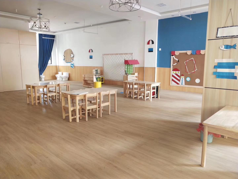 5.8澳美加幼儿教育·SPC锁扣地板工程案例