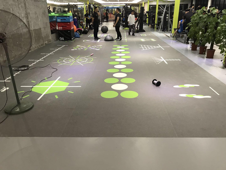 5.5运动家健身房棠东店·卷材PVC地板案例