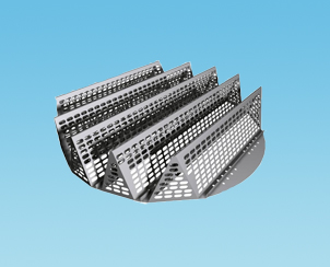 新型填料支承裝置梁型氣體噴射式填料支承板