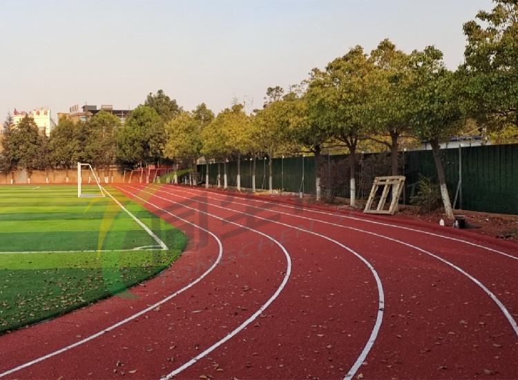 昆明龙保小学球场跑道