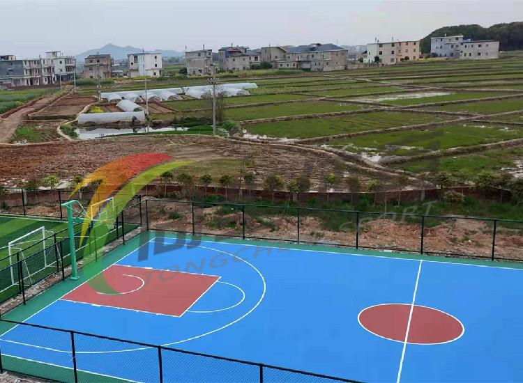 江西上饶丙烯酸篮球场