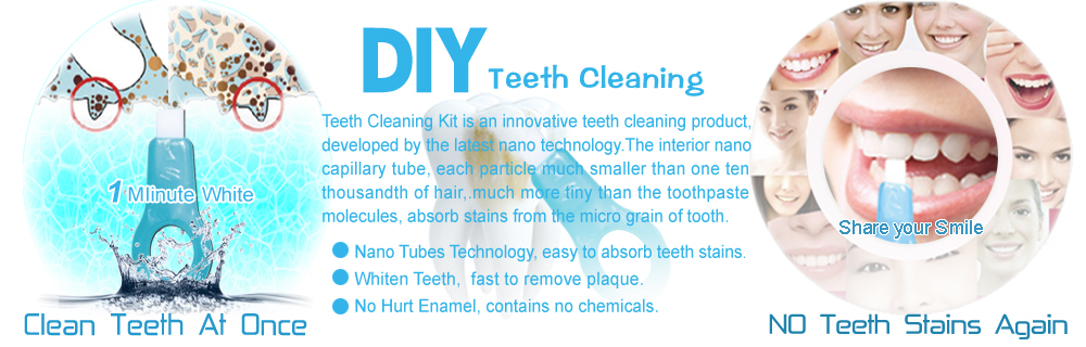 DIY Teeth cleaning innovitative teeth cleaning kit