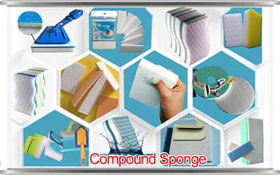 Share nano provide magic cleaning sponge melamine foam with other material, melamine sponge, floor cleaning sponge, magic eraser