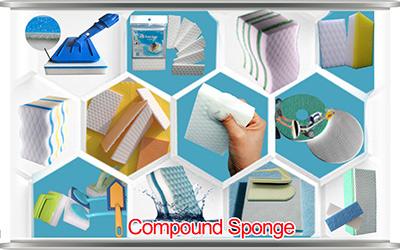 Share nano provide magic cleaning sponge melamine foam with other material, melamine sponge, floor cleaning sponge, magic eraser