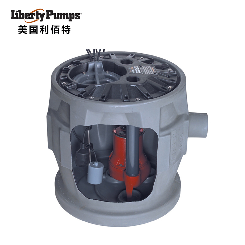 美国利佰特污水提升器-Pro380大通道无堵塞别墅地下室专用污水提升器
