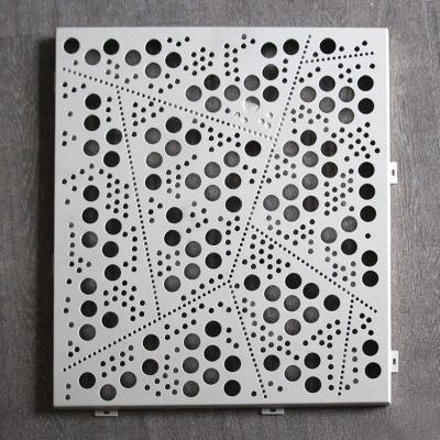 穿孔冲孔氟碳铝单板