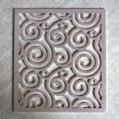 雕花镂空氟碳铝单板