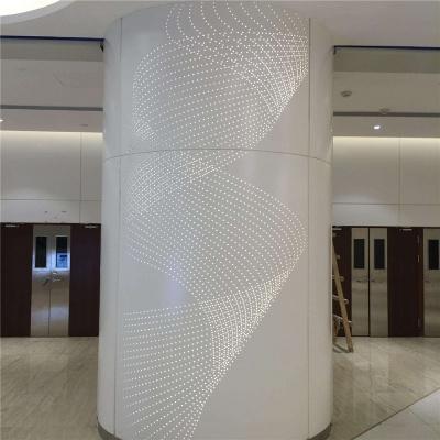 室内包柱镂空铝单板
