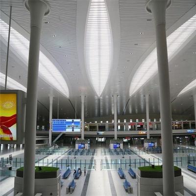 高铁站候车厅用铝单板