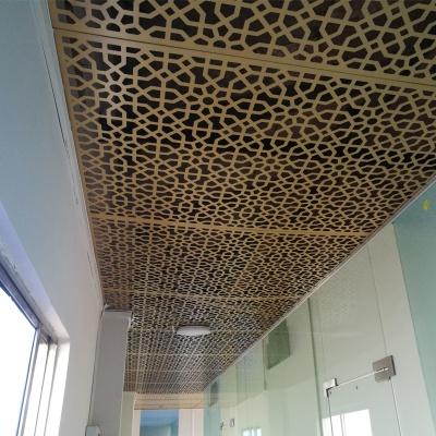 室内雕花天花铝单板