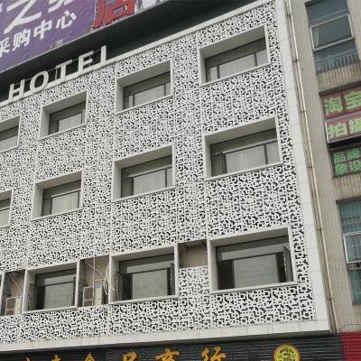 酒店外墙氟碳铝单板