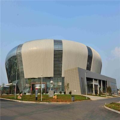 体育馆造型铝单板