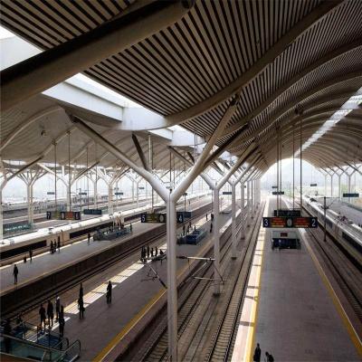 高铁站天棚铝单板