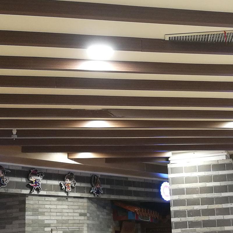 室内仿木纹铝单板