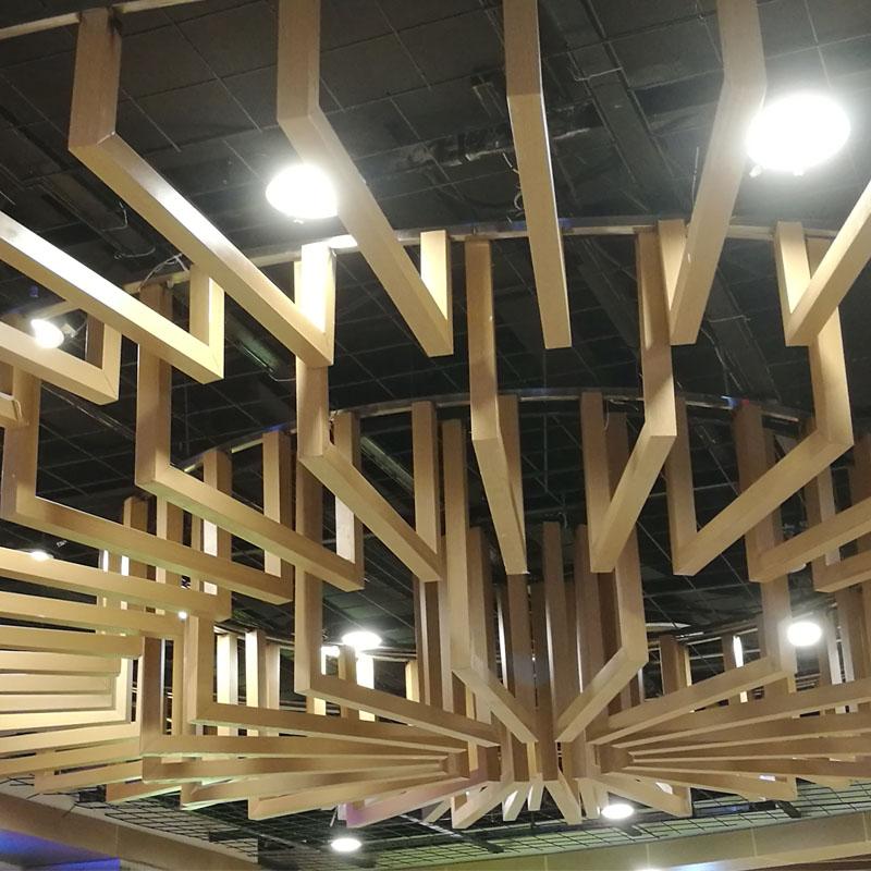室内造型天花铝单板定制