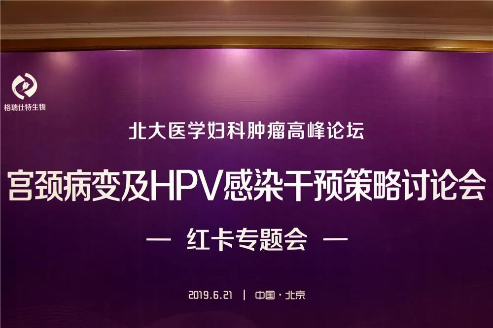 宫颈病变及HPV感染干预策略讨论会