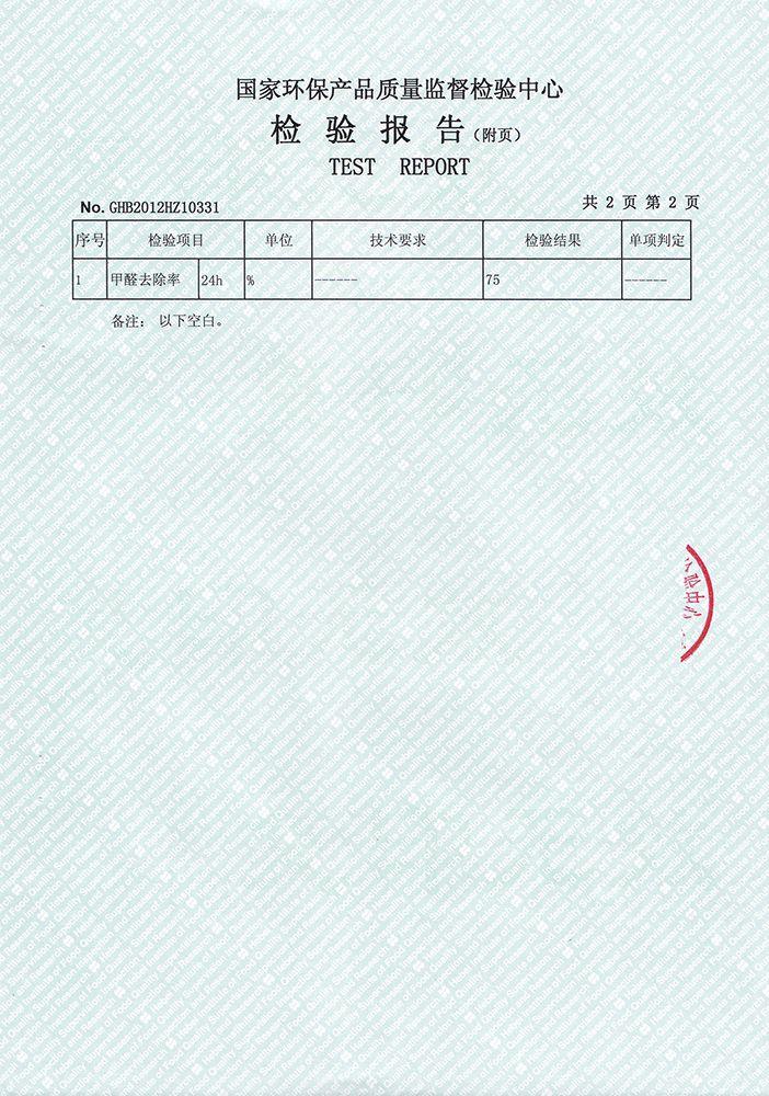 甲醛检测报告3