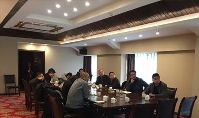崇州市农业和林业局来访考察公司...