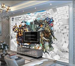 儿童背景墙 3D电视背景墙