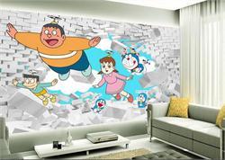 儿童沙发背景墙 3D电视背景墙 