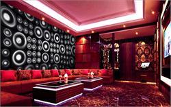 酒店KTV背景墙 巨形喇叭墙震撼背景墙
