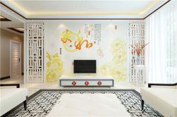 彩雕背景墙,瓷砖雕背景墙