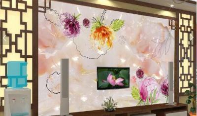复合微晶电视背景墙