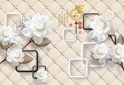 玉雕兰花家和富贵