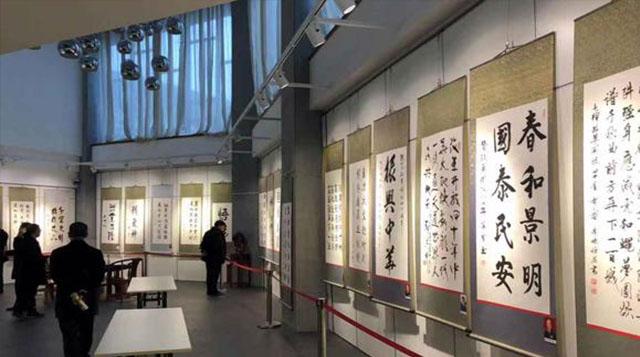 百名将军部长及著名书画家作品展在四川成都举办