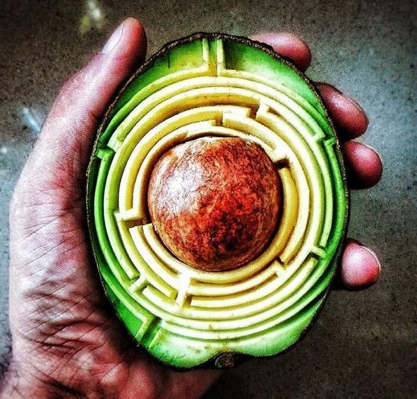 平淡无奇的水果这样雕琢之后,赋予了新的灵魂!
