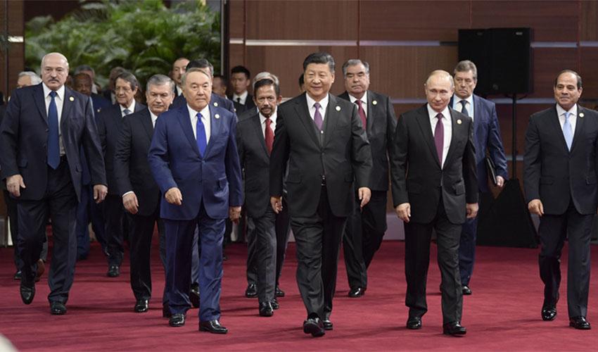 """第二届""""一带一路""""国际合作高峰论坛"""