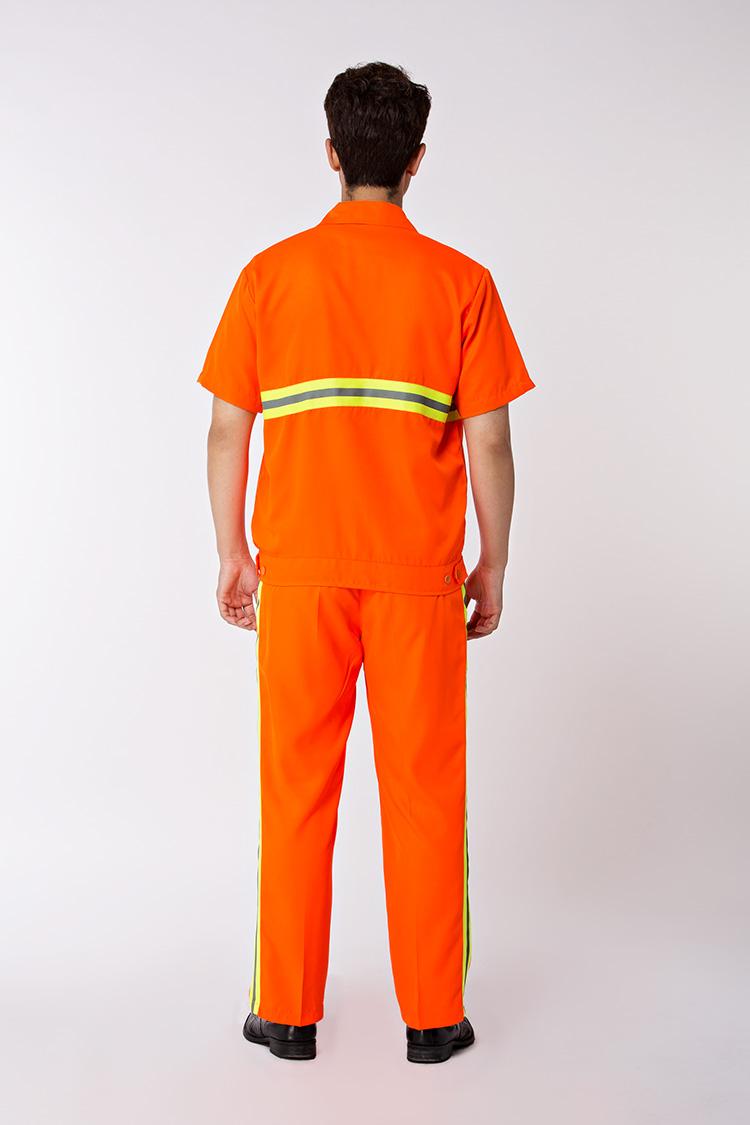 橙色春夏工作服