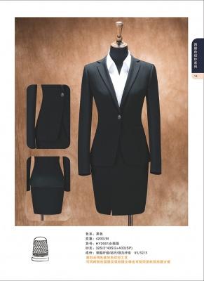 中高档西装定做 女士职业装西服定制XZ-14