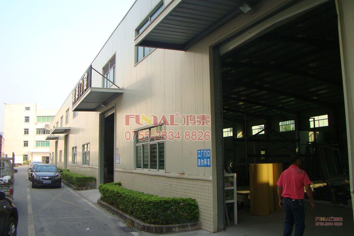 二十棟工廠外圍圖