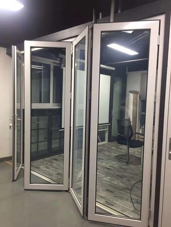 澳洲商业住宅铝合金推拉折叠玻璃门