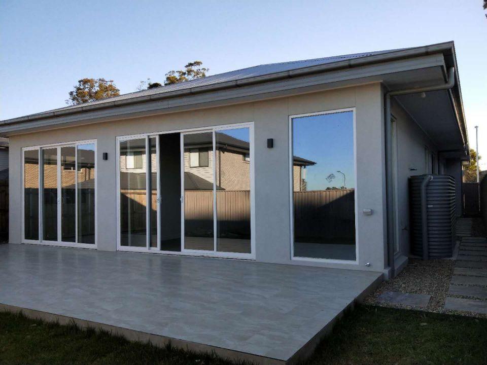 HT100澳標認證鋁合金多軌推拉門 玻璃平移門