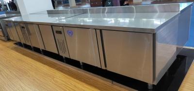 卧式冷柜 不锈钢操作台 厨房操作台 冷冻工作台 冷藏操作台 双温工作台