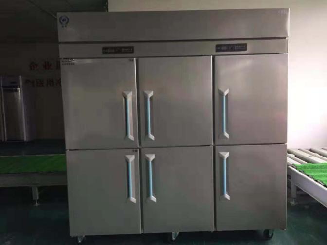 不銹鋼商用冰箱 立式六門冰柜 餐飲食品制冷設備 冷藏柜 冷凍柜