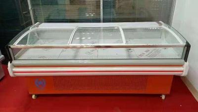 超市熟食柜  鲜肉展示柜 水果冷藏展示柜 蔬菜保鲜柜 卧式食品展示柜