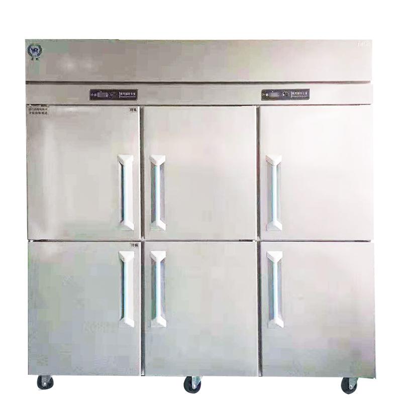 22858.com立式六门冷藏柜