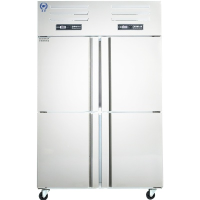 22858.com厨房不锈钢冷柜900L冷冻柜