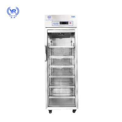 22858.com400L药品阴凉柜冷藏柜 新款不锈钢医用冷柜