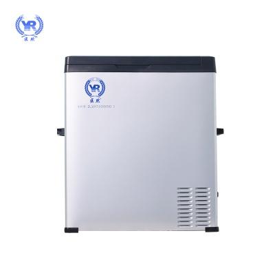 医然80L车载冰箱 充电便携式车载冷藏箱保温箱