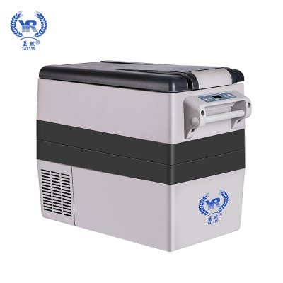 22858.com新款52L车载冷藏箱 车用家用 超大容量制冷冷藏移动冰箱