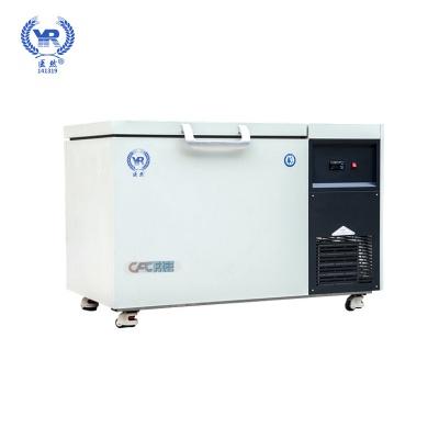 22858.com105L卧式超低温冷柜 零下60/86/105/135度超低温冰箱