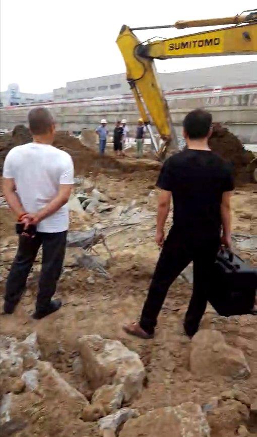 土耳其康拉德探测器在山西某工地勘探地下金属