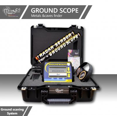 美國MWF Ground Scope 地麵雷達 美國範圍 雙節棍可視金屬成像儀