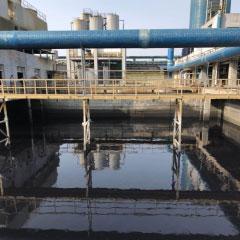 利用筛选菌种对印染物化污泥的减...
