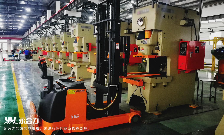 永合力®为某大型模具厂提供前移式叉车