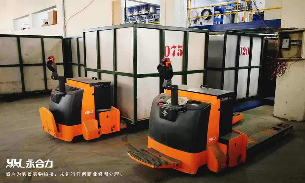永合力为某化工厂定制叉车,提高综合安全指数。